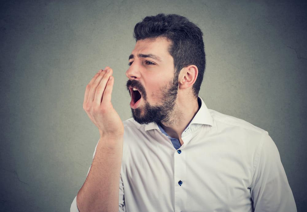 запах изо рта после алкоголя